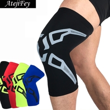 1 Pair None Slip Compression Knee Sleeves Protector for Basketball Football Soccer Cycling Running Knee Pads Brace Support ахметзянов марат халикович сопротивление материалов