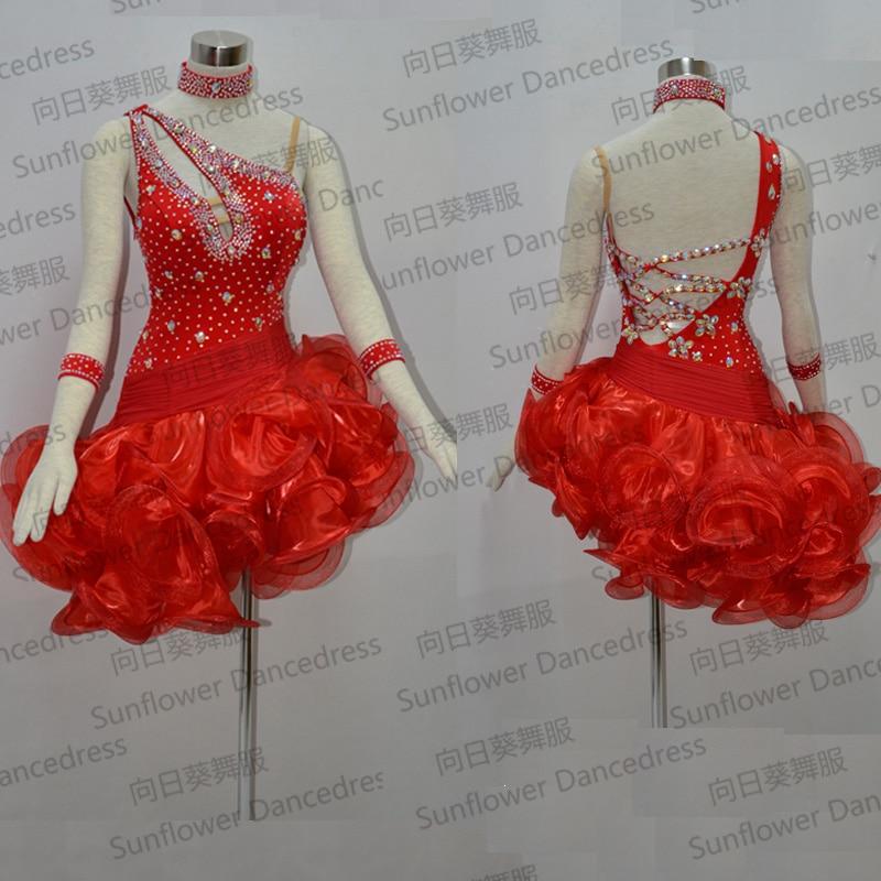 Visokokakovostna latino plesna obleka, modna obleka, latinsko obleko - Odrska in plesna oblačila