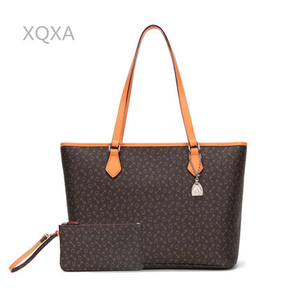 Free shipping DHL top quality canves with leather Lady s Shopping Bag women shipping bags composite