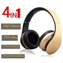Nouvelle mise à jour V3.0 + EDR Sans Fil Casque Bluetooth Écouteur soutien TF carte radio FM pour mobile téléphone Portable Pliable Casque