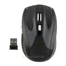 2,4 ГГц USB оптическая беспроводная мышь USB приемник Беспроводные мыши игровой компьютер ПК ноутбук Настольный компьютер без аккумулятора 25