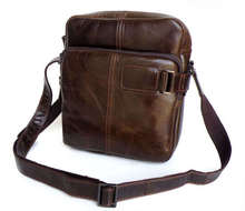 Maxwell High Quality Vintage 100% Real First Layer Genuine Leather Men Messenger Bags Shoulder Bags #MW-J6013
