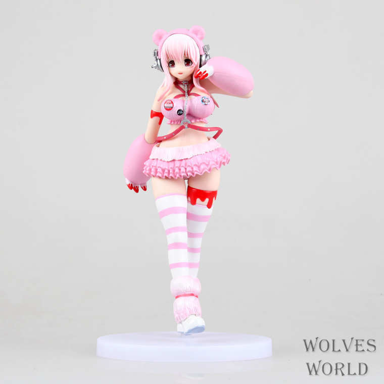 Anime Sexy Figure Super Sonico Racinggirl Gloomy Edition Brinquedos PVC Action Figure Sexy Anime Figure Sex Robot Dolls Juguetes a toy a dream furyu sonico action figure super sonic swimsuit ver sexy pvc anime figure bikini sexy girl action figure 13cm