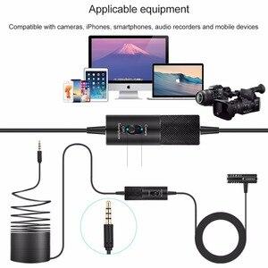 Image 5 - Yanmai condensador de transmisión omnidireccional con enchufe profesional, 3,5mm, para cámara de teléfono inteligente y PC