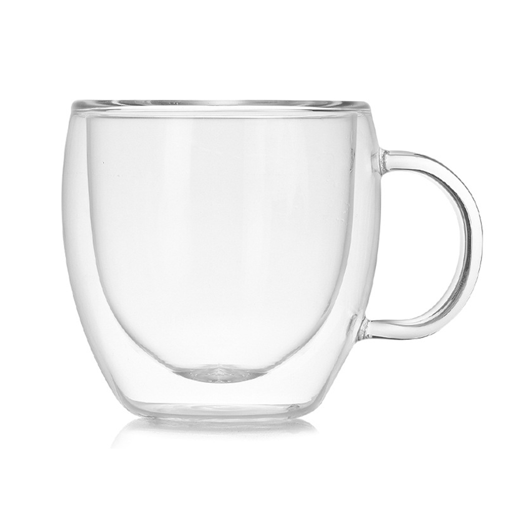 Double Wall Thermal Coffee Glass 1