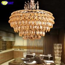 Fumat apple k9 kryształ światła luksusowe amber lampa wisząca nowoczesne kreatywny salon hotelu bar lustre zawieszenie światła projektu
