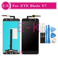 "High quality 5.2"" For ZTE Blade V7 LCD Display + Touch Screen Digitizer Assembly Replacement + Tools Free Shipping"