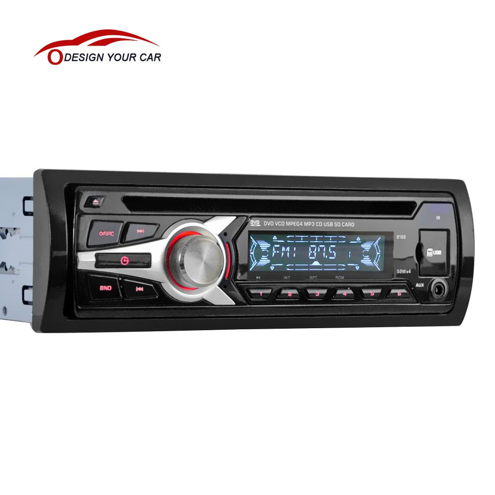 buy universal car stereo radio audio player cd dvd mp3 player with fm aux input. Black Bedroom Furniture Sets. Home Design Ideas