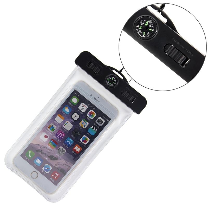 Waterproof Pouch For iPhone 8 8plus 7 7plus 6 6plus X SAMSUNG S8 S8PLUS S9 S9PLUS