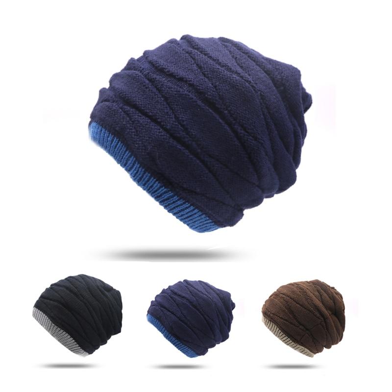 ᗔ1 unids marca beanies knit sombrero de invierno skullies Bonnet ... 1693d7bb412