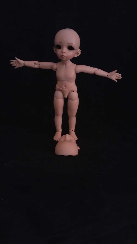 AQK (AQK) 1/6 BJD/SD два лица Эльф девушка кукла точки свободные глаза