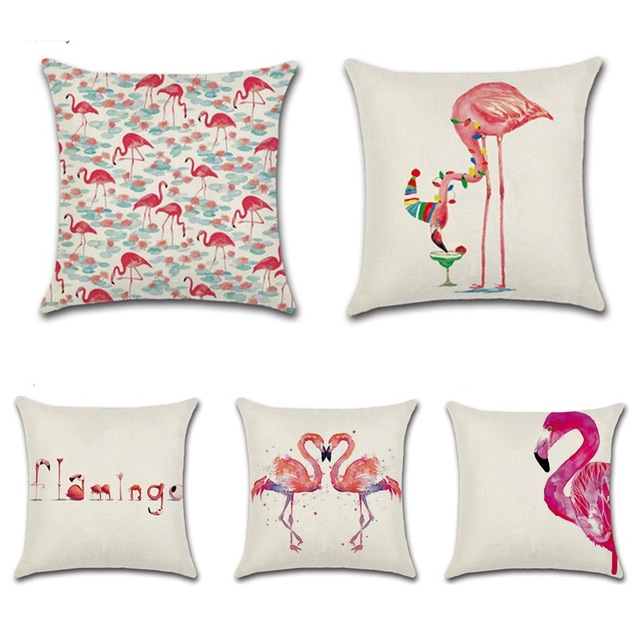 Canape flamant affordable canape flamant with canape - Coussin flamant rose ...