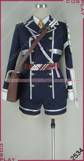 Touken Ranbu Online Cosplay Houchou Toushiroue Costume Uniform Halloween S002
