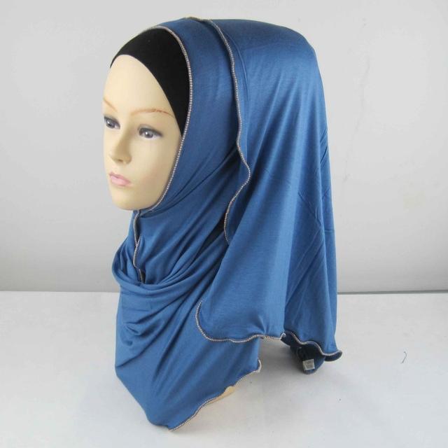 New Women Scarf Full Cover Inner Muslim Cotton Hijab Cap Islamic Head Wear Hat Underscarf