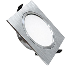 Square Downlights LED SMD 5730 5W Ceiling Lamps 110V 220V Dimmable Spot Driver Included