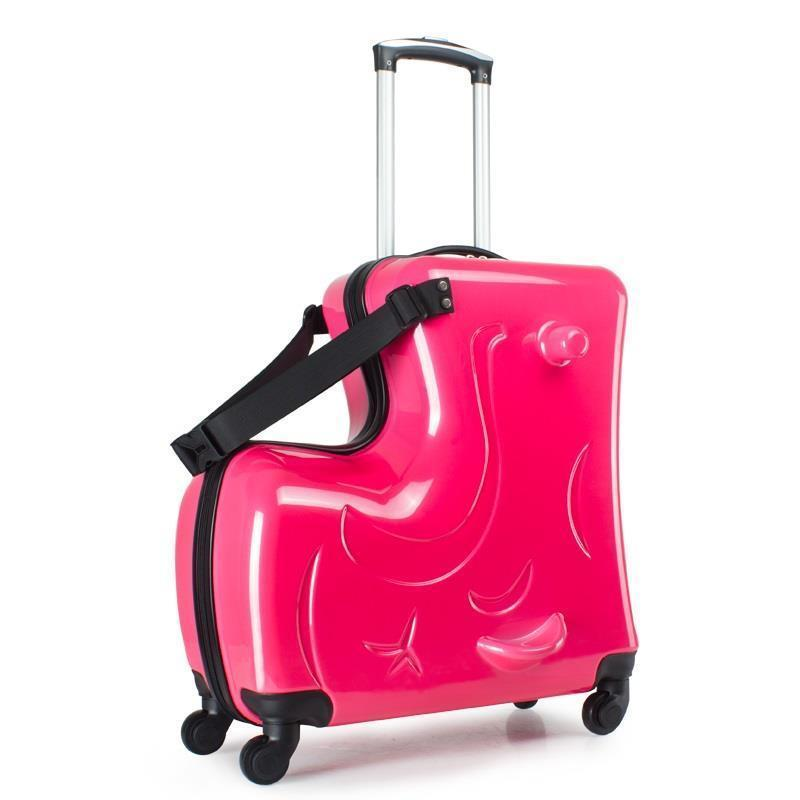 Bag With Wheels Valise Voyageur Cabina Con Ruedas Cabin Bavul Children Trolley Maleta Carro Mala Viagem Suitcase Luggage 20inch