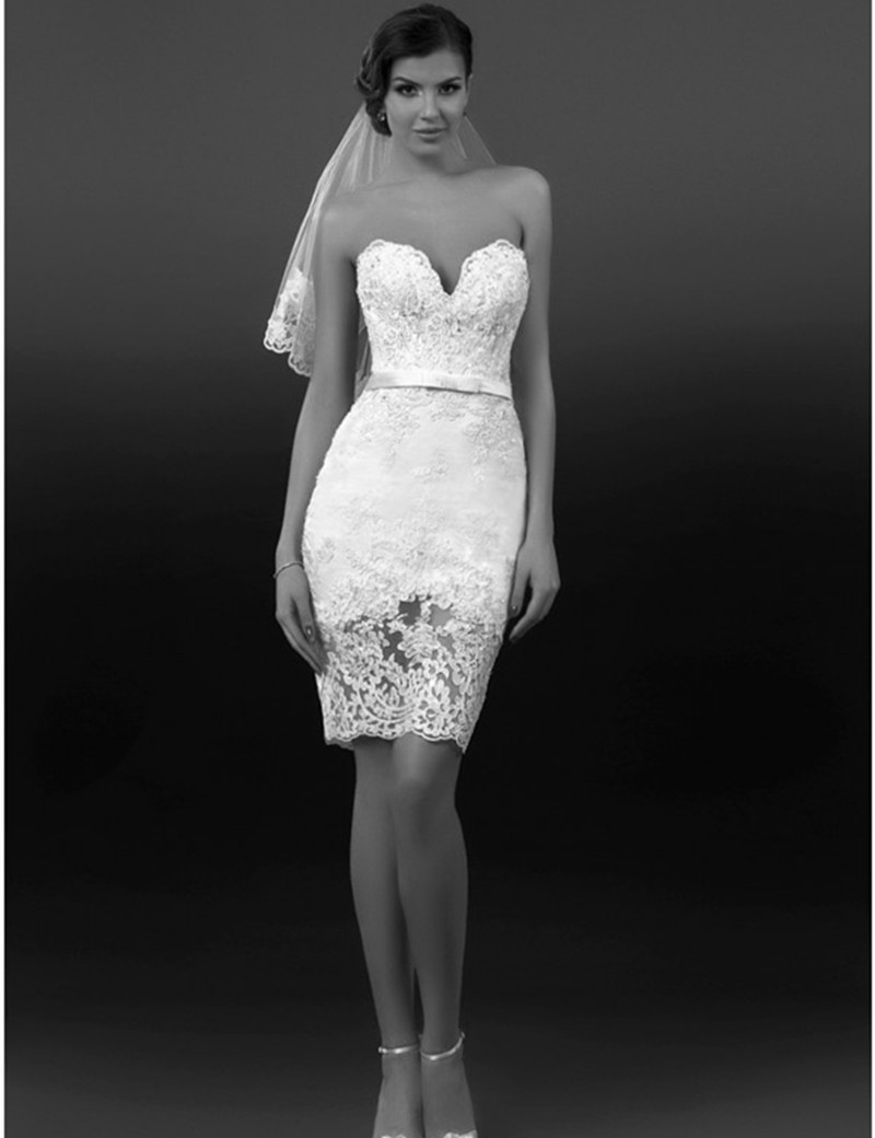 get a sexy look by wearing short wedding dresses short sexy wedding dresses Get a sexy look by wearing Short Wedding Dresses