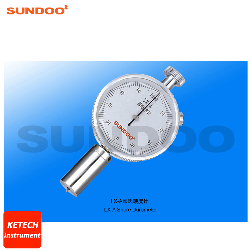 Analog Microporous Materials Rubber Plastic Shore Durometer Sundoo LX-A цена
