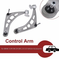 2 PCS Front Left Right Control Arm Wishbone Suspension Kit For BMW 3 ER E46 Z4 E85 2.0 3.0 Vehicle Accessories High Quality