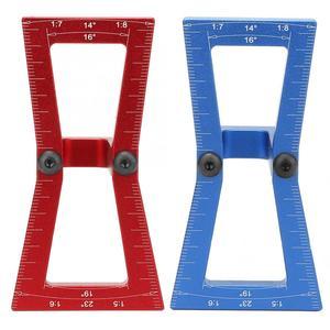 DIY деревообрабатывающий ласточкин хвост линейка маркер деревянные суставы датчик направляющий инструмент 1:5-1:7 1:6-1:8 ласточкин хвост врезно...