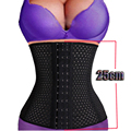 Black Waist Trainer Women Slimming Tummy Belly Girdles Underbust Waist Cincher Body Shaper Slimming Belts Corselet -E