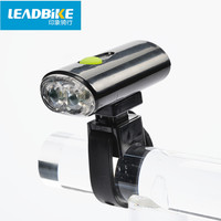 אור שפתוחה אופניים 2 Led סופר מבריק ABS Leadbike USB נטענת אופני פנס LED פנס עמיד למים משלוח חינם