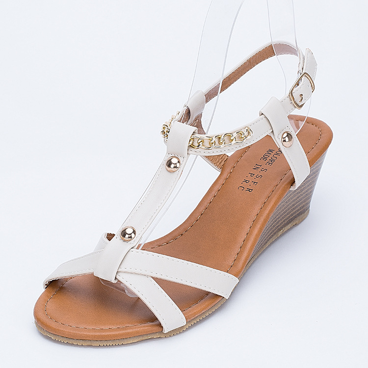 bfa083f5a8ef Female Fashion Ladies Sandals Sandals Wedges Leisure Ladies Sandals  Aliexpress Amazon Wholesale-in Women s Sandals from Shoes on Aliexpress.com