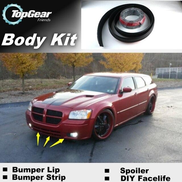 Bumper Lip Deflector Lips For Dodge Magnum 2004 2008 Front Spoiler