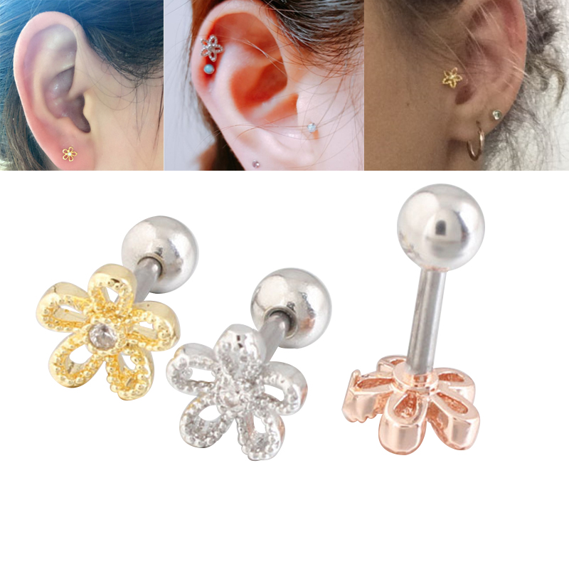 Alisouy 1 Pcs Six Colors Pearl Color Ball Navel Ring Belly Button Bar Body Jewelry Navel Piercing Stainless Steel Belly Ring To Suit The PeopleS Convenience Home