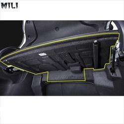 Mili 2017 автомобильный Стайлинг Автомобильный багажник шумоизоляция хлопок для toyota camry 2018 2019 2020 XV70 Altis