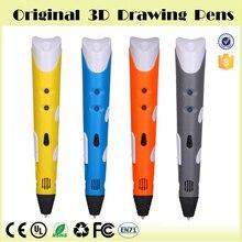 Распродажа оригинальный Magic 3D принтер рисунок пером 3D ручка с 3 цвета ABS нити 3D печати 3D ручки для малыша Лучший DIY подарок