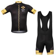 Мужская Велоспорт Джерси Устанавливает Лето Велосипед пользовательские велоспорт одежда Велосипедов Краткое Одежда Quick Dry Дышащий Pro Cycling Одежда