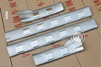 Stainless Steel Inner Door Sill Inside Scuff Plate Trim 4PCS For Nissan X Trail X Trail