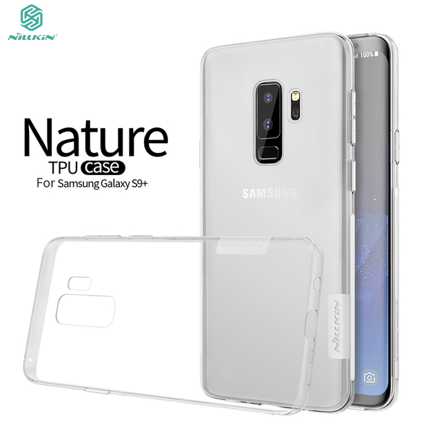 the latest 97fb4 24902 US $4.99 |Aliexpress.com : Buy sFor Samsung Galaxy S9 Plus Case Galaxy S9  Plus TPU Case Nillkin Nature Series Back Cover Clear Soft Case For Samsung  ...