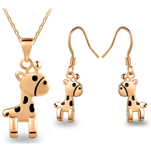 G197 animals dangle fashion jewelry sets for gift