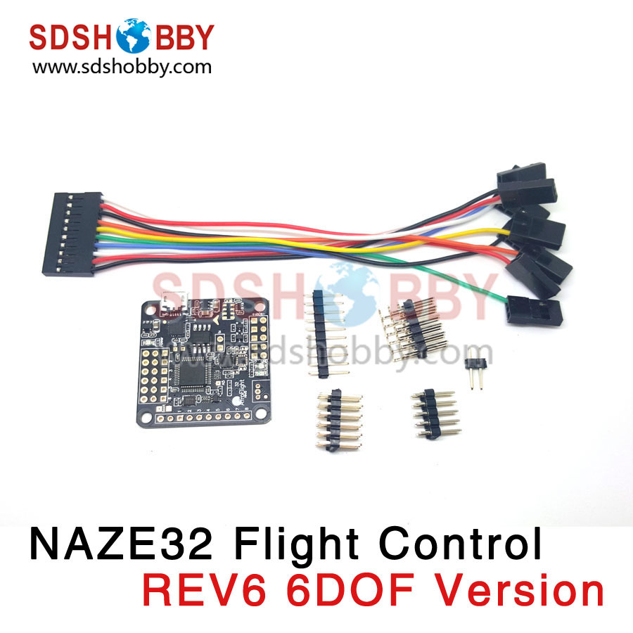 ФОТО naze32 rev6 6dof/acro/10dof/full all series version open source flight controller for multicotper