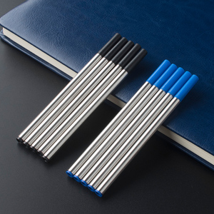 6Pcs / Lot Jinhao Baoer Hero roller ball Pen Refills ballpoint rollerball pen refill for Writing factory Wholesale(China)