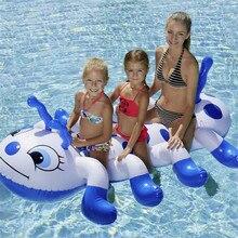 Гусеница летняя надувная водная игрушка для плавания для взрослых бассейн плоты для плавания надувные игрушки для детей для взрослых