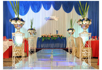 10ft x 20ft лед шелковой ткани Свадебная вечеринка фон занавес свадьба палатка Свадебный Фон Стенд фон материал