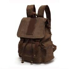 Rucksack Männer Leinwand Rucksack Freizeit Reisetasche Rucksack Vintage-Mode Laptop Rucksäcke Schultaschen Frauen 0612