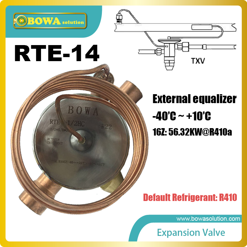 цена на RTE-14 TEV feeler bulb is connected to the evaporator and senses the temperature inside the evaporator of the refrigeration unit