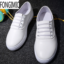 Fashion New Style  men summer Lace-up Solid comfortable breathable all match Plus Size Round Toe male popular casual shoes