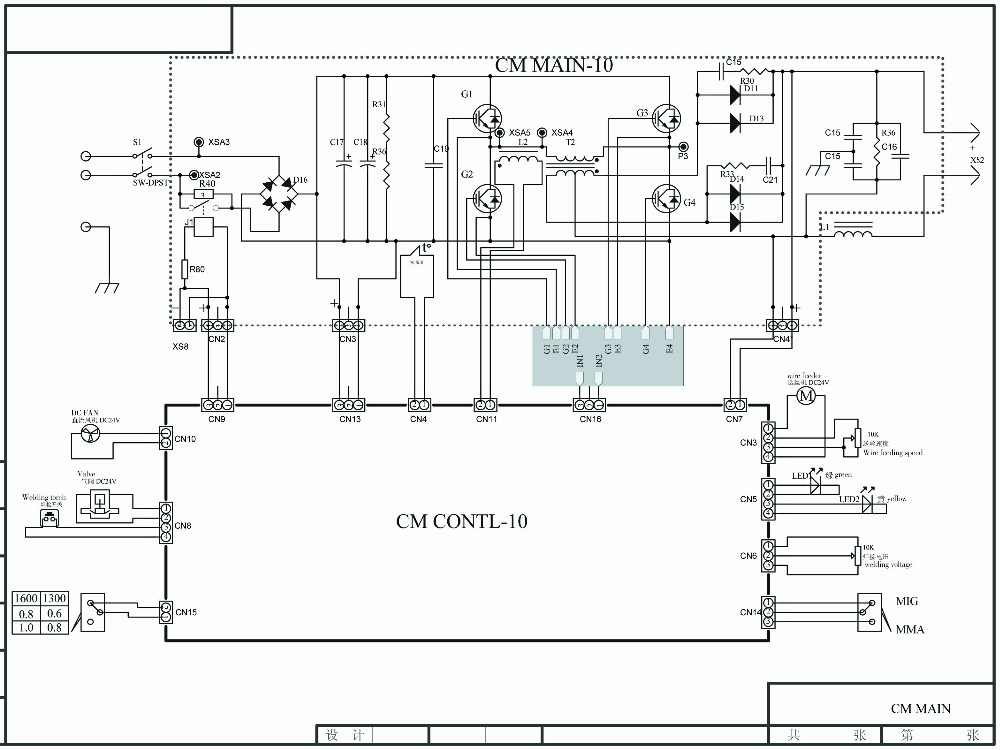 MIG TIG MMA Welding machine board 3 in 1 functions for IGBT inverter