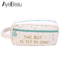Cute Beauty Vanity For Brush Toiletry Kit Travel Cosmetic Makeup Make Up Bag Pencil Pen Case Purse Organizer Women Pouch Neceser цены