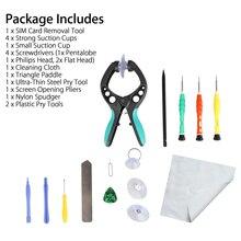 14 in 1 Repair Tools Kit Smartphone LCD Screen Opening Pliers Metal Pry Spudger