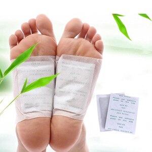 10 шт. Пластыри для детоксикации ног, очищающие Пластыри для ног, токсины для ухода за ногами с клейкой сыростью, улучшают сон, Детокс, пластыр...