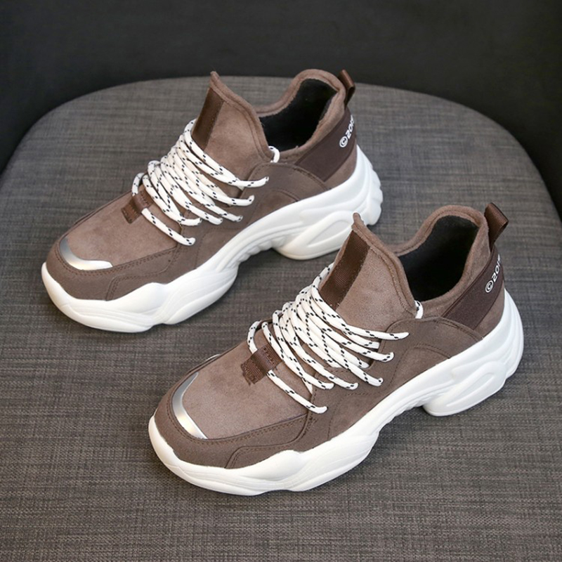 Women Casual Shoes Femme 2019 Spring Autumn Shoes Women Sneakers Flats Fashion Lace-Up white Breathable woman Sneakers(China)