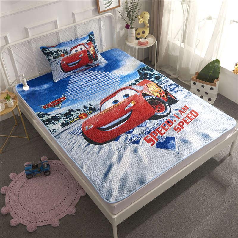 Us 32 39 19 Off Pink Red 3d Disney Princess Bedding Set Twin Size Bedspread Girls Coverlet For Kids Bedroom Decoration Pillow Case Children Home In