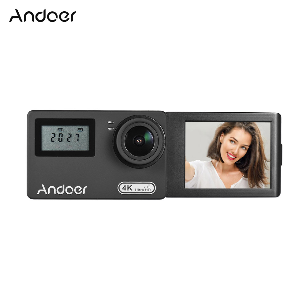 New Andoer AN300 Action Camera 4K WiFi 16MP Sports Cam Novatek 96660 Waterproof w Remote Control