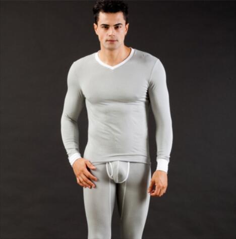 Brand Men Thermal Underwear Modal Long Sleeve Top Pant Underwear Warm Clothing Wholesale/Retail Long Johns